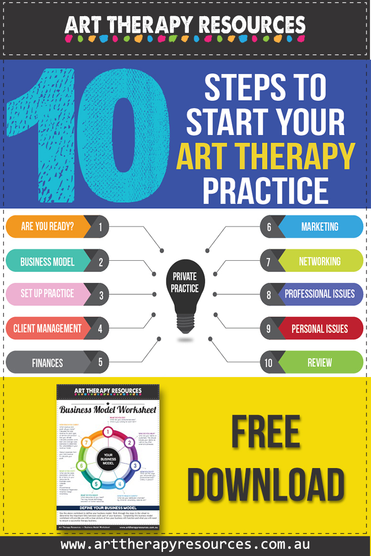 10 Steps to Set Up Your Art Therapy Practice