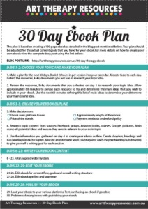 30 Day Ebook Plan