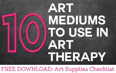 10 Art Mediums To Use in Your Art Therapy Sessions