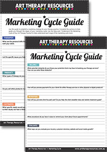 Art Therapist Marketing Cycle