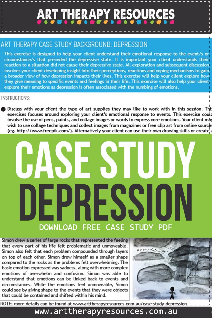 Art Therapy Case Study Depression