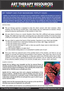Case Study: Using Art Therapy for a Client with Fertility Issues