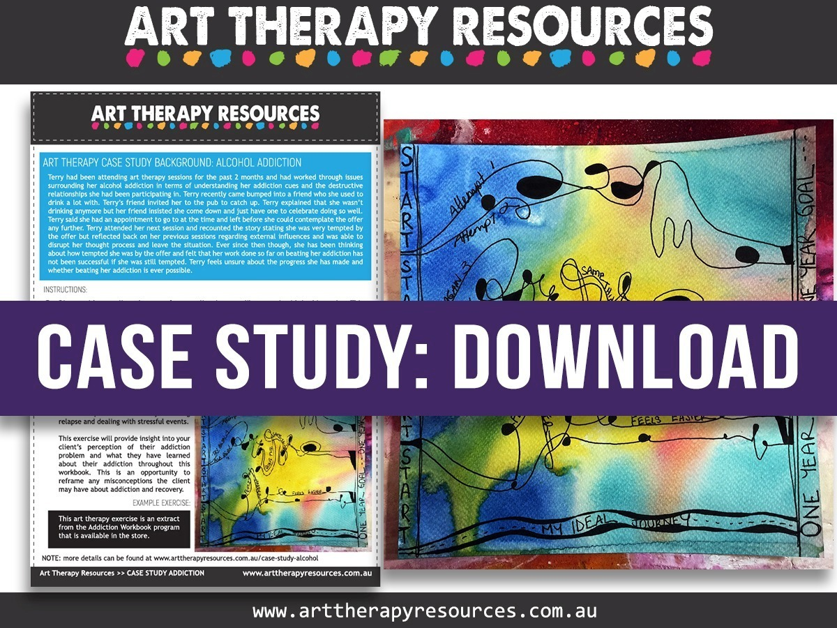 Workbooks therapy workbooks : Case Study Using Art Therapy for a Client with Alcohol Addiction