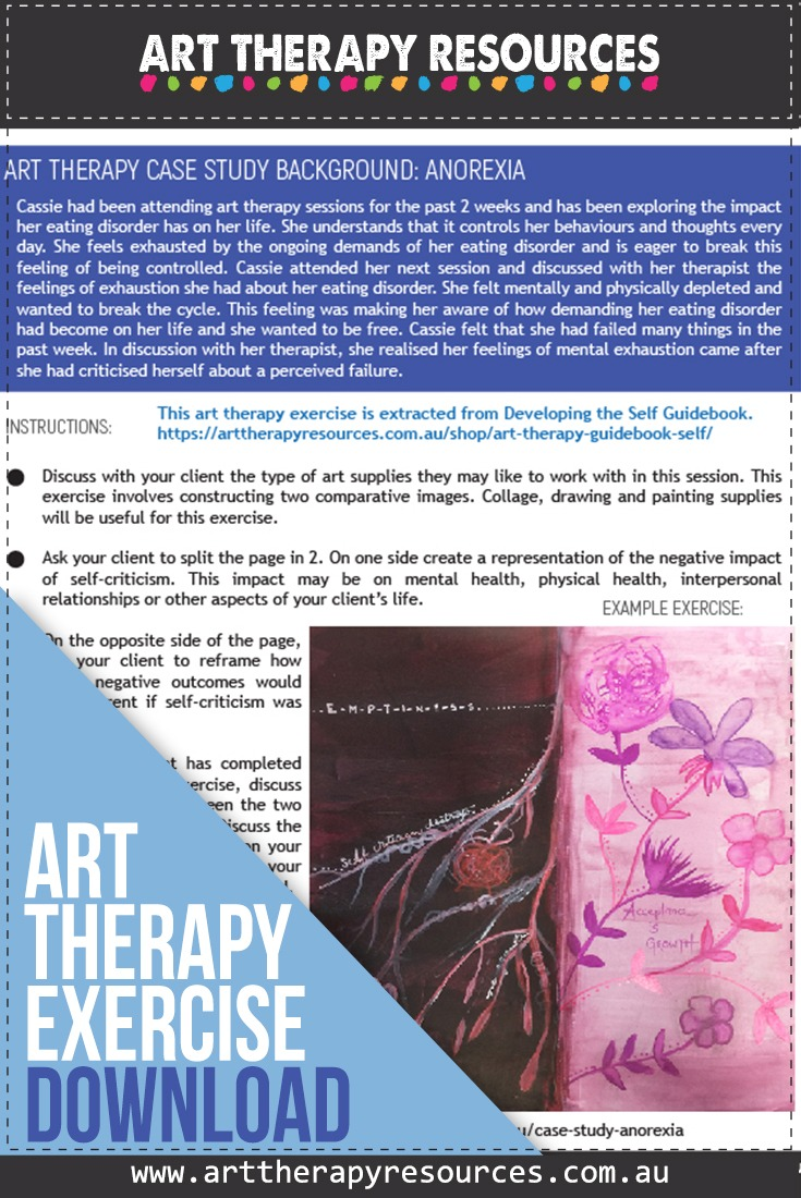 Art Therapy Exercise Anorexia