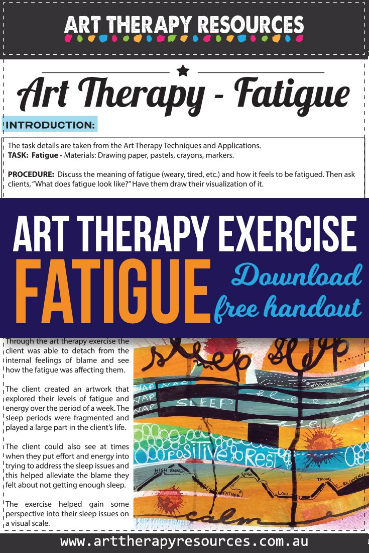 Art Therapy Resources Exercise for Fatigue