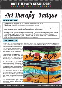 Art Therapy Resources Exercise Fatigue