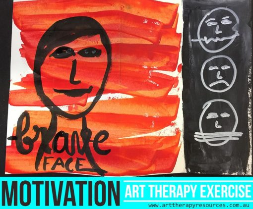 Developing Motivation Art Therapy Exercise
