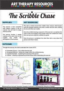 Art Therapy Scribble Chase