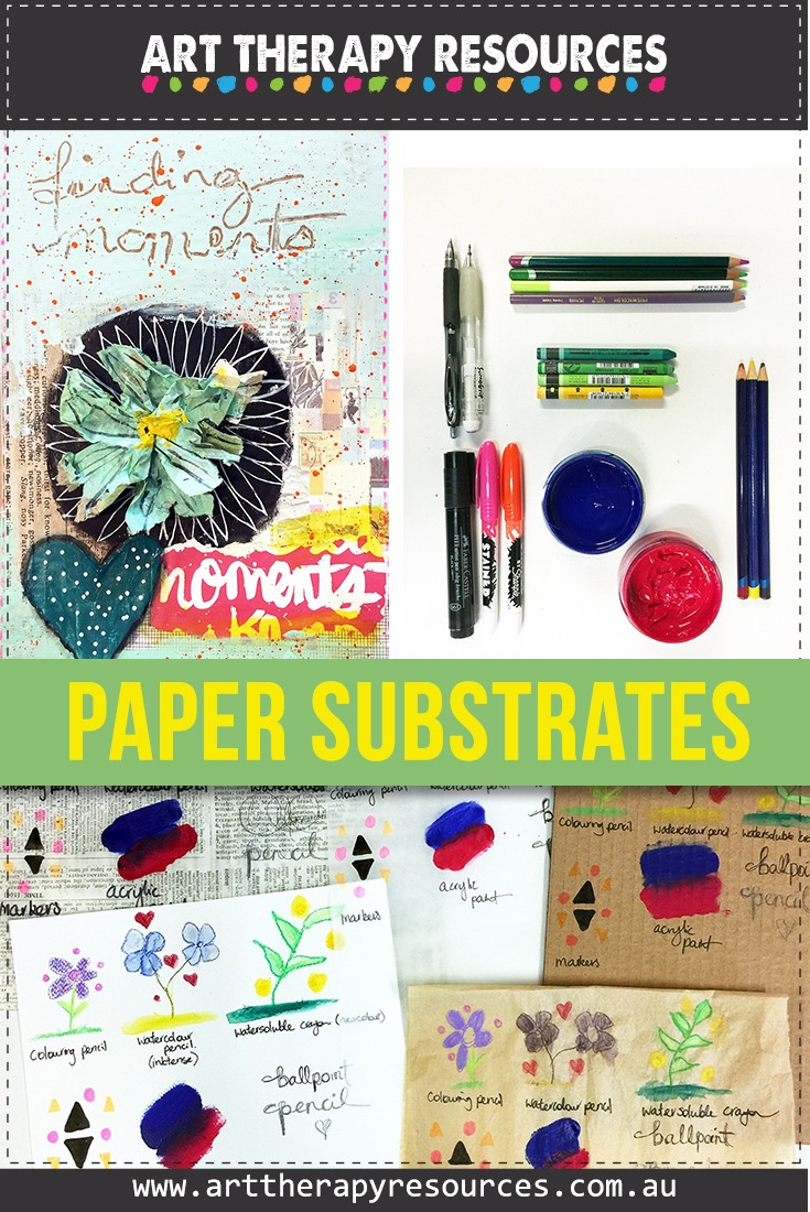 Art Therapy Paper Supplies