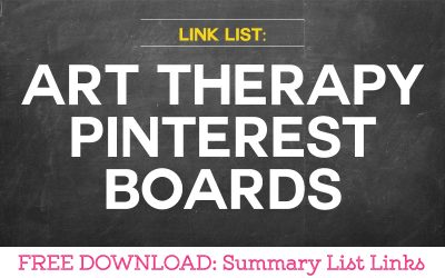 Link List: Art Therapy Pinterest Boards
