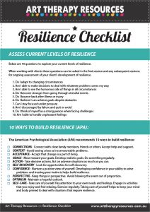 Resilience Checklist