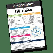 Art Therapy Website Checklist