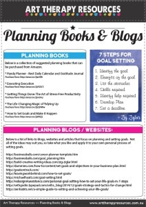Planning Books and Blogs