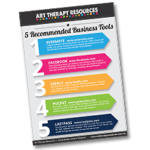 Art Therapy Website Checklist