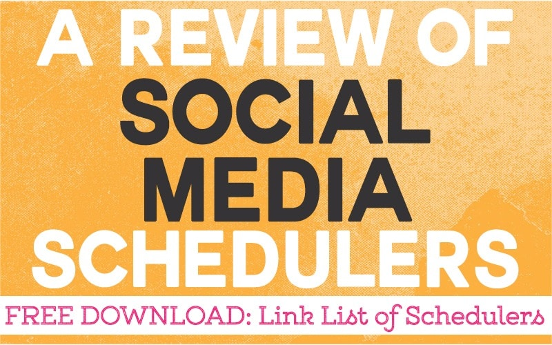Review of 5 Free Social Media Schedulers