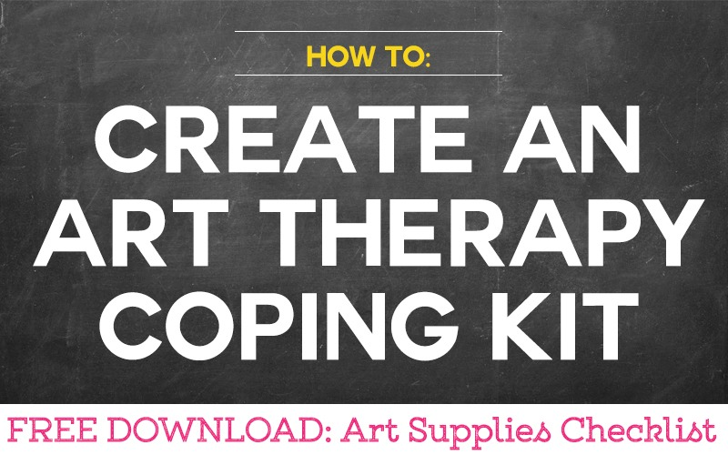 How to Create an Art Therapy Supplies Kit