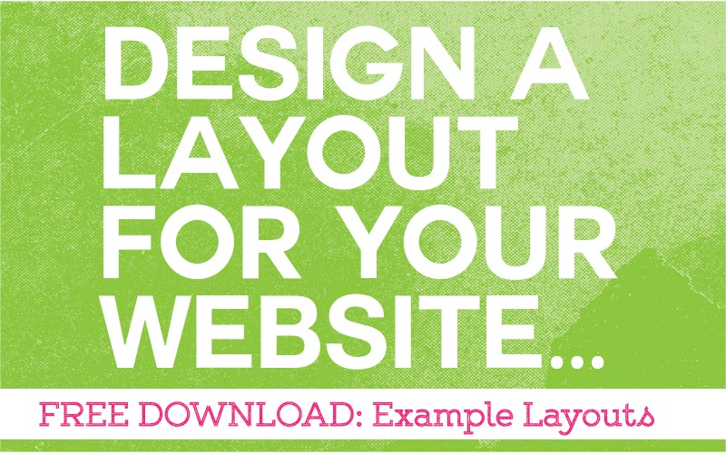 Design a Simple Layout for Your Art Therapy Website