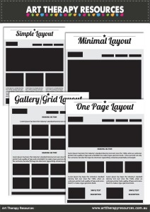 Art Therapy Website Layouts