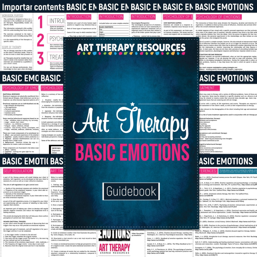 Art Therapy Treatment Emotions