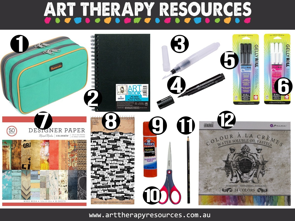 Art Therapy Supplies Kit