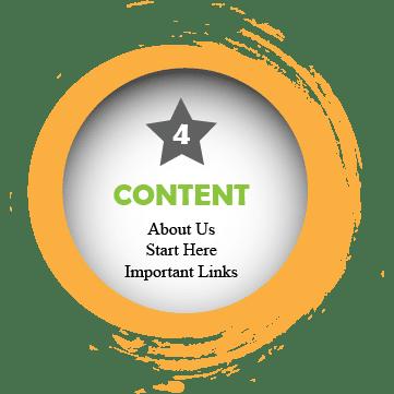Basic website content