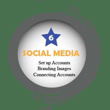 Set up social media