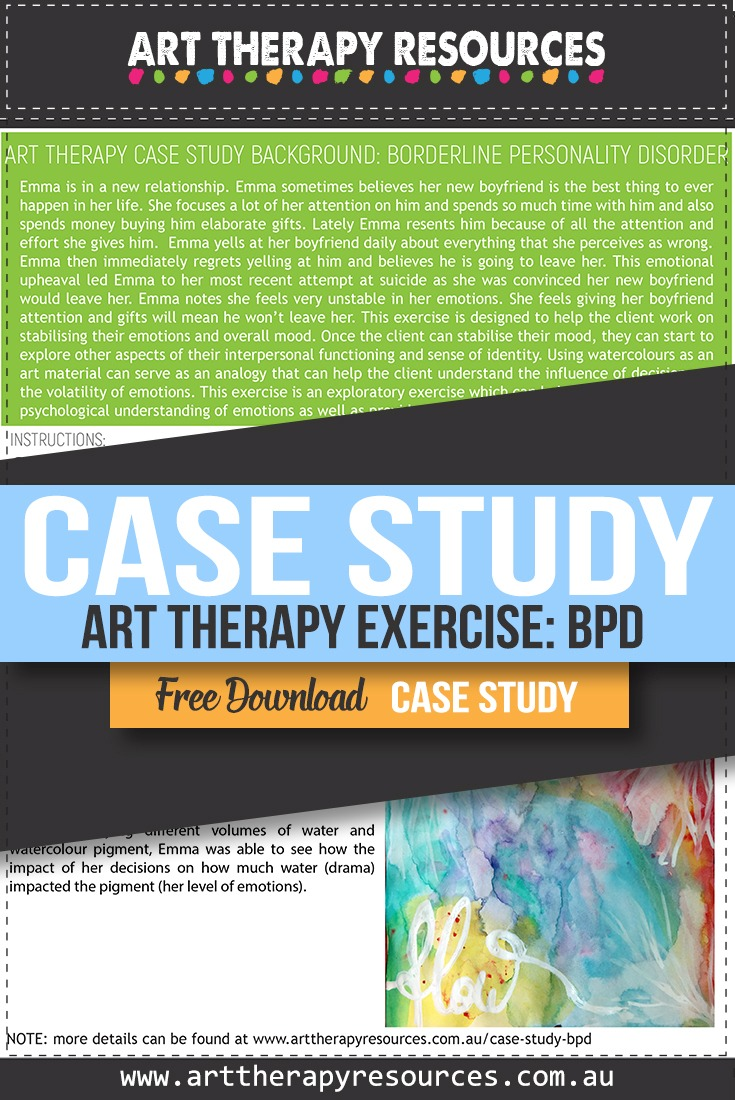 Art Therapy and Borderline Personality Disorder