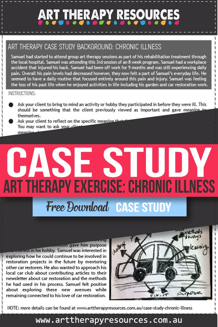 Art Therapy and Chronic Illness