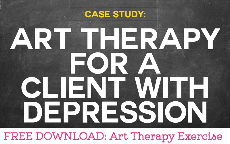 Case Study: Using Art Therapy for a Client with Depression