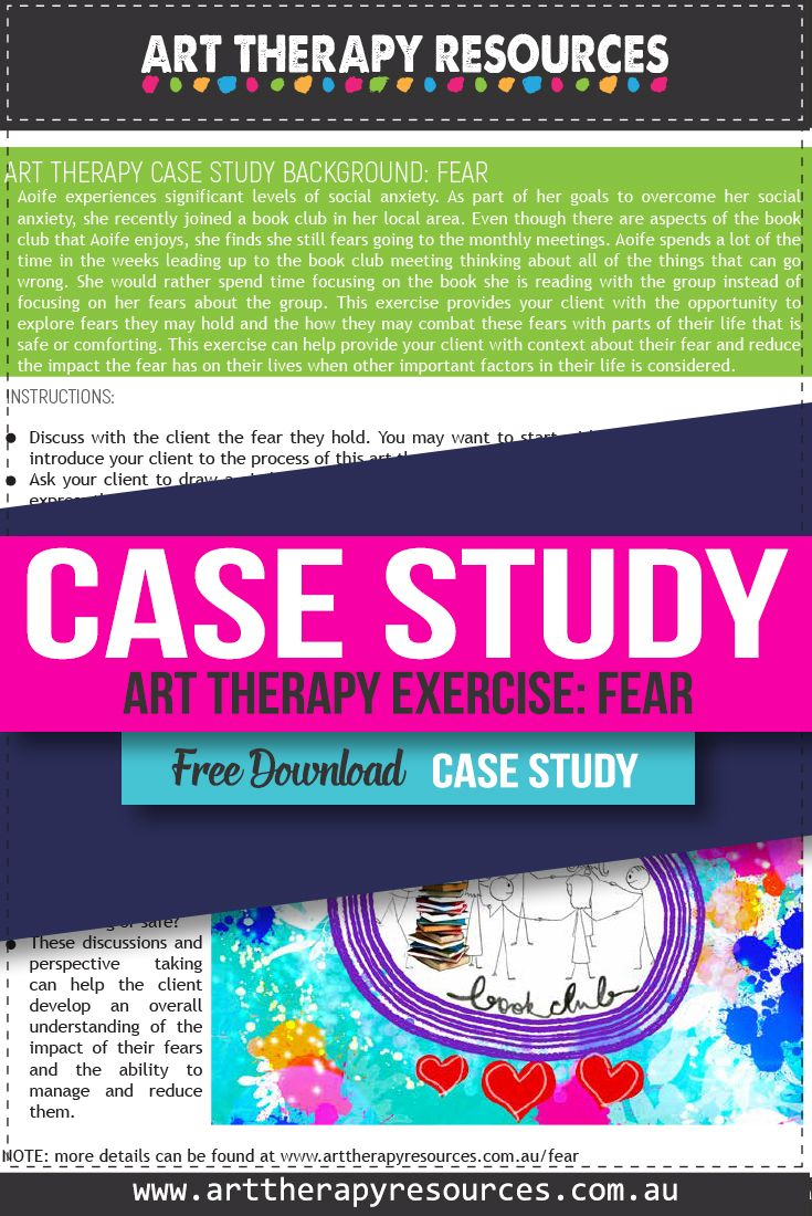 Case Study: Art Therapy for a Client with Fear