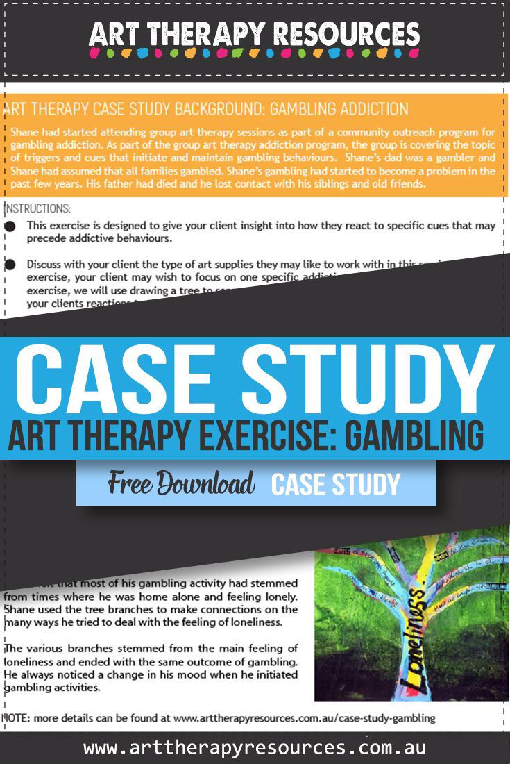 Art Therapy and Gambling