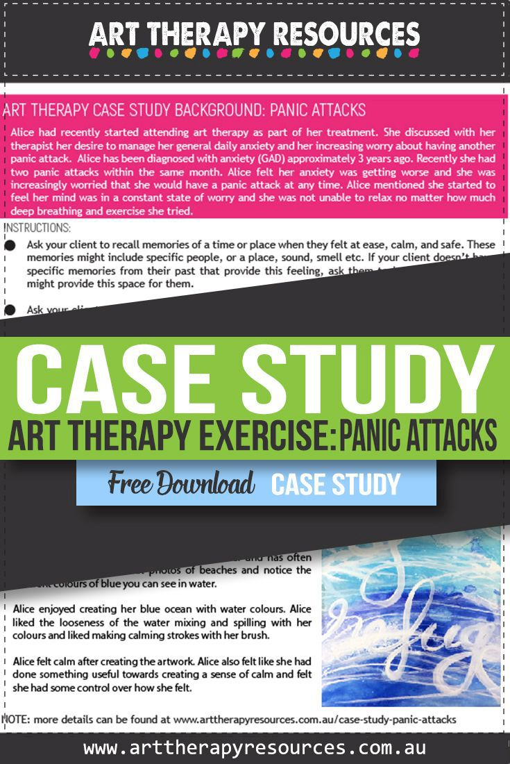 Art Therapy and Panic Attacks