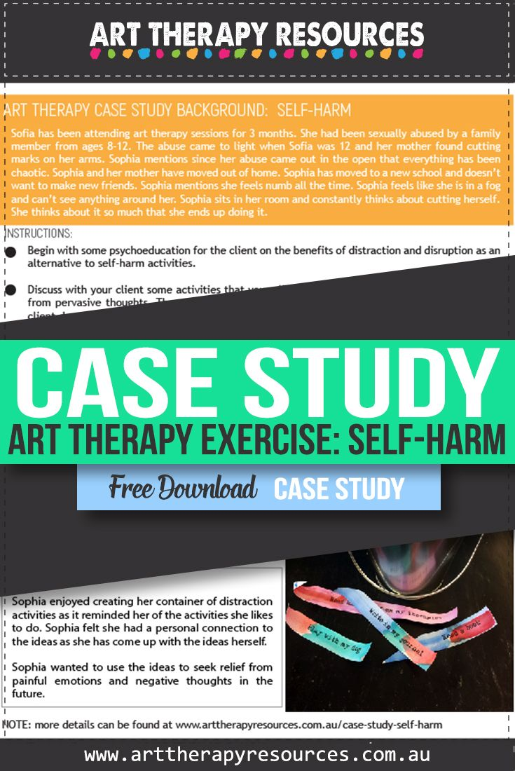 Art Therapy and Self-harm