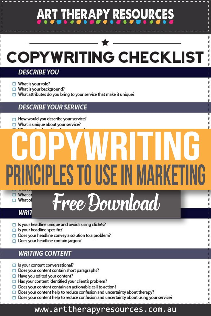 5 Essential Copywriting Principles to Use in Your Marketing
