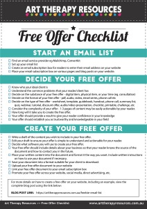 Free Offer Checklist
