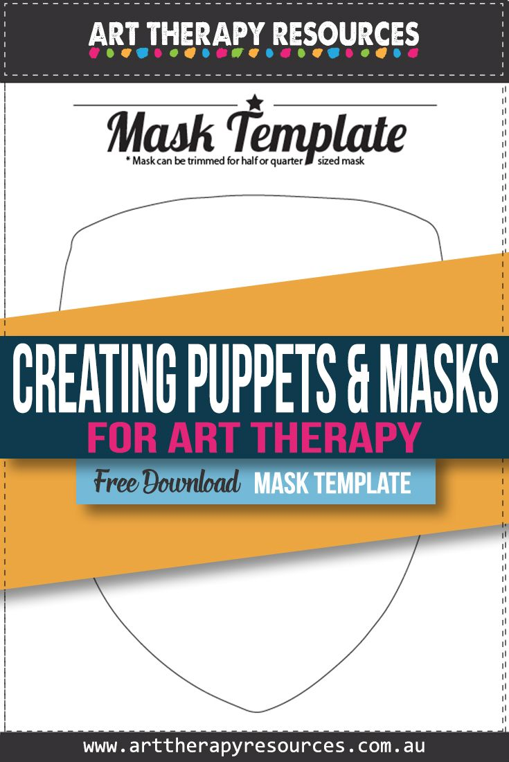 Creating Puppets and Masks for Art Therapy