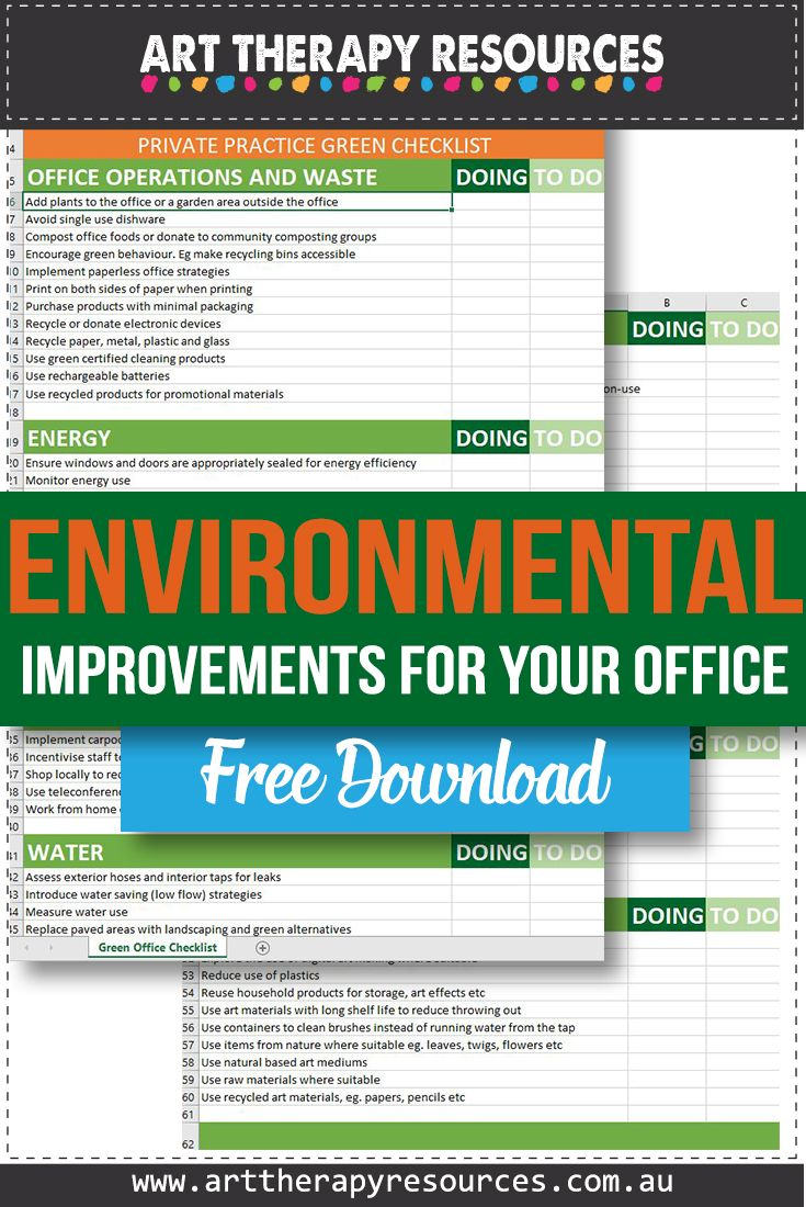 Reduce the Environmental Impact in Your Office