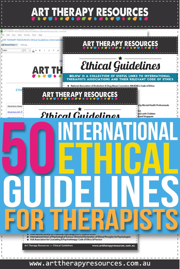 Ethical Guidelines for Art Therapists