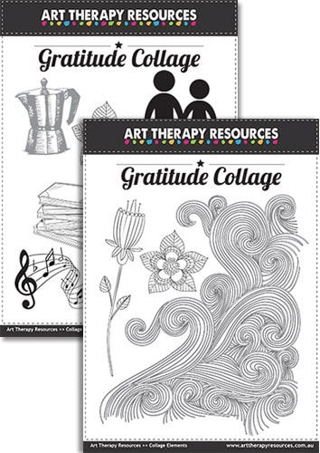 Art Therapy Gratitude Collage Download