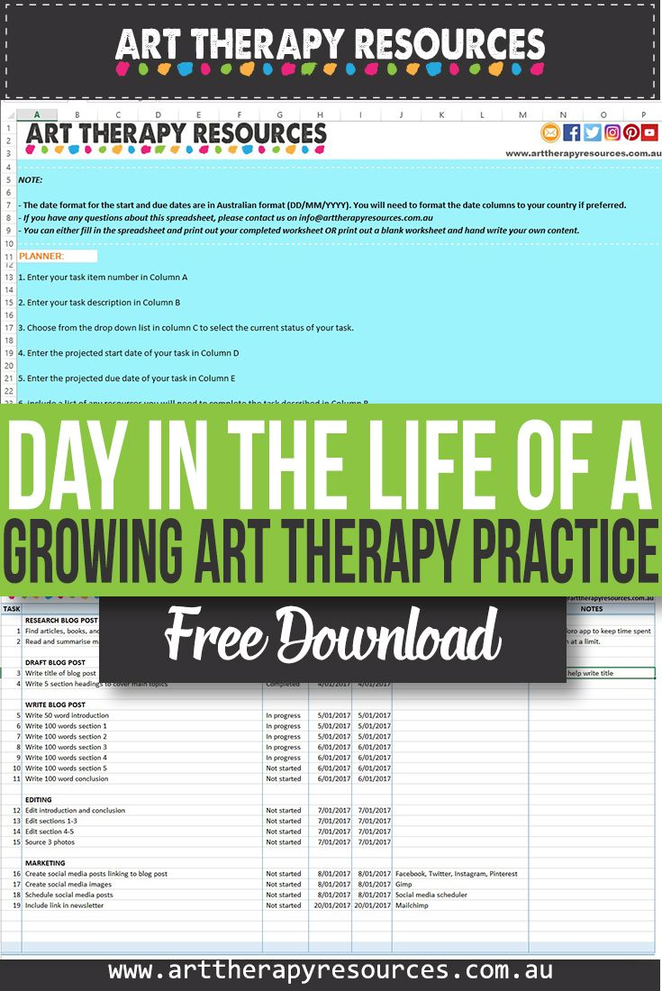 A Day in the Life of a Growing Art Therapy Practice