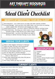 Ideal Client Checklist