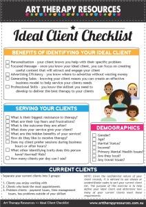 Ideal Client Checklist