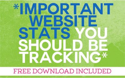 The Most Important Website Statistics You Should Be Tracking