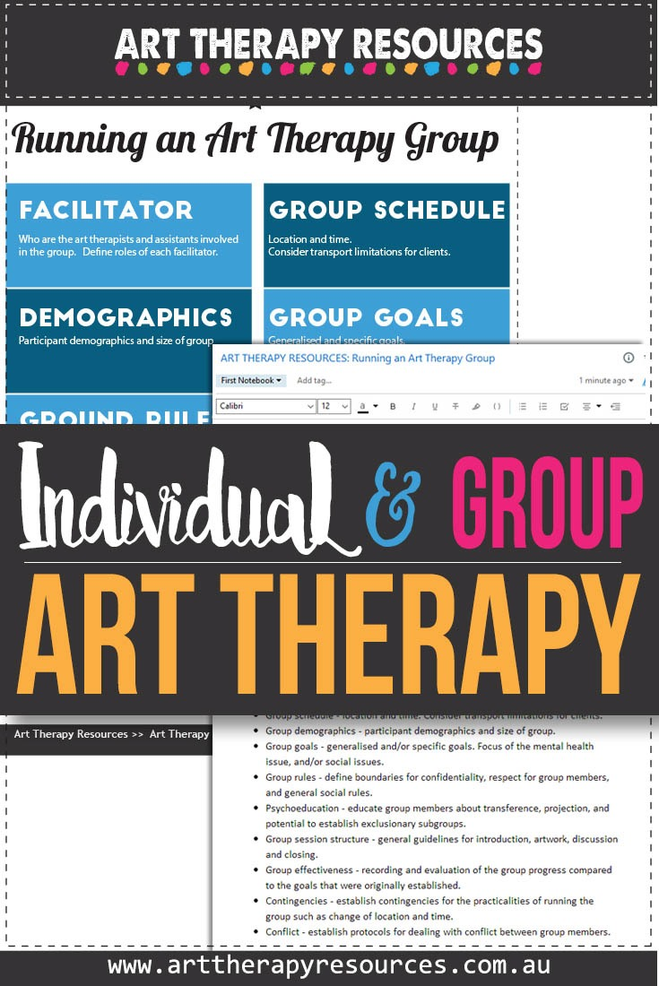 Comparing Individual and Group Art Therapy