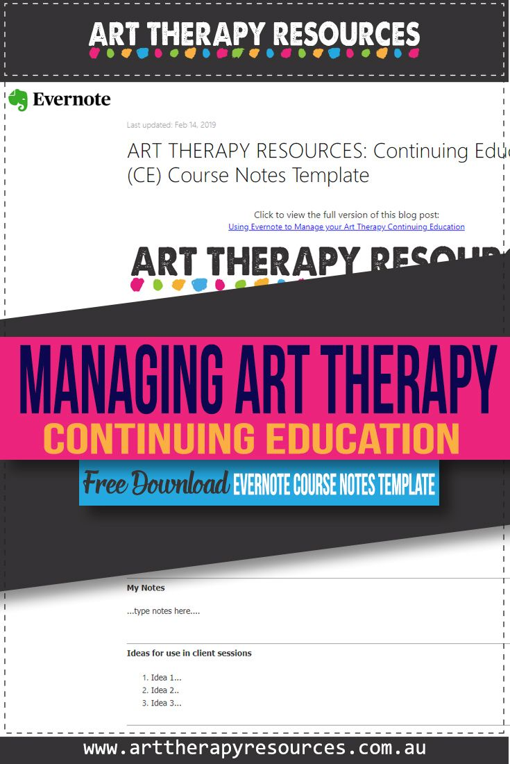 Manage your Art Therapy Continuing Education