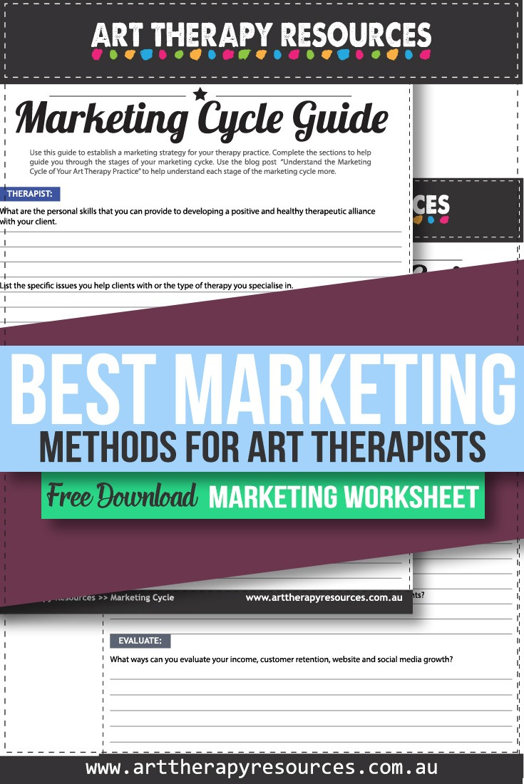 The Best Marketing Methods for Art Therapists