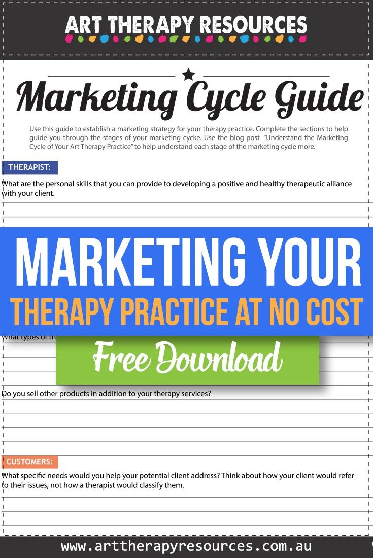 Free Download Marketing Cycle Worksheet