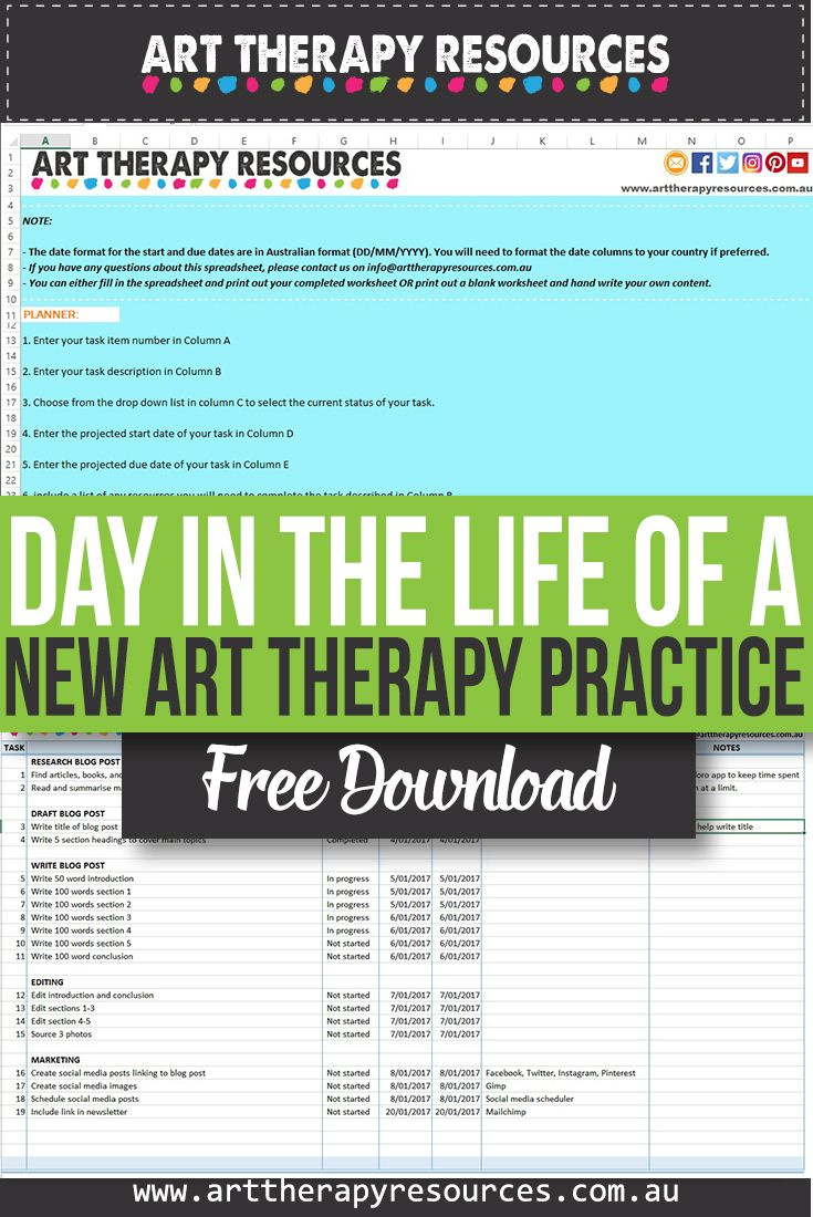 A Day in the Life of a New Art Therapy Practice