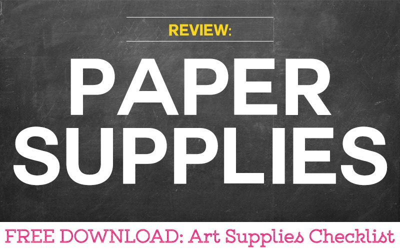 Review of Paper Substrates for Art Therapy Activities