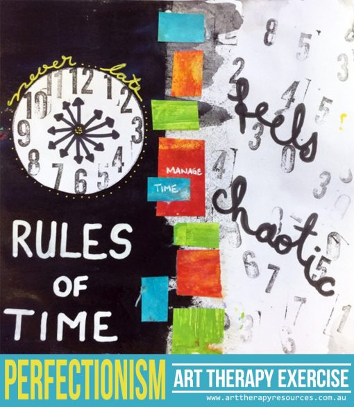 Perfectionism Art Therapy Exercise